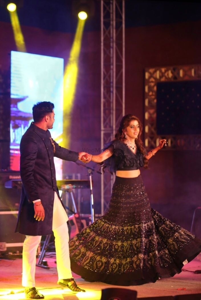 Photo From Nitesh + Priya Sangeet Choreography  - By Dansync