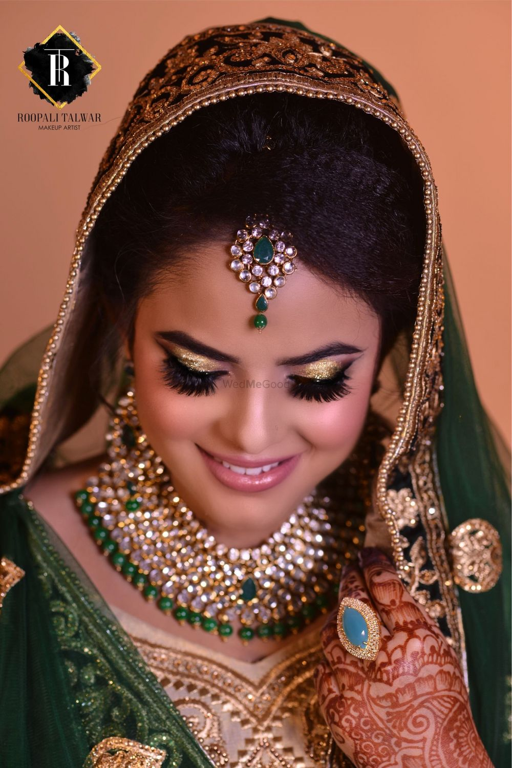 Photo From My Muslim Bride  - By Roopali Talwar Makeup Artist