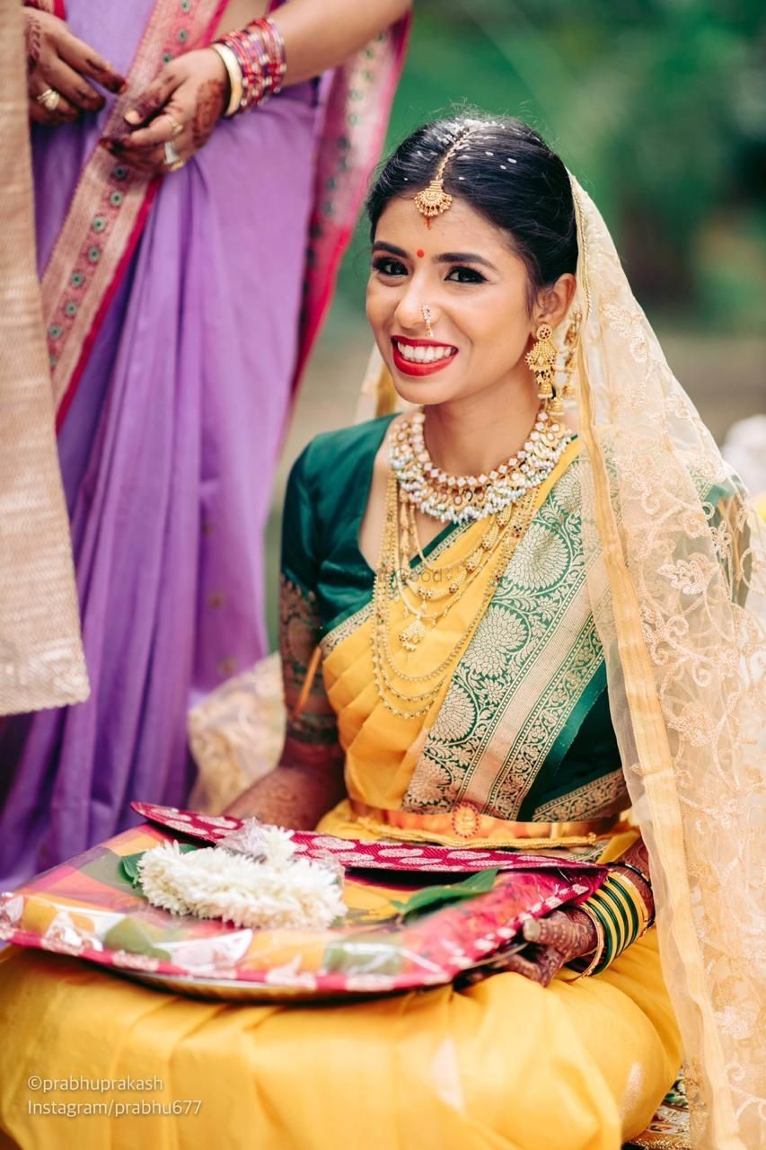 Photo of south indin bridal makeup