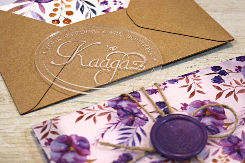 Photo From Lavender Wonder- Wedding Invitation - By Kaagaz- Wedding Card Boutique