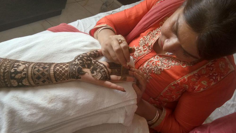 Photo From Shailja bridal mehendi at Meerut on 20th sep - By Shalini Mehendi Artist