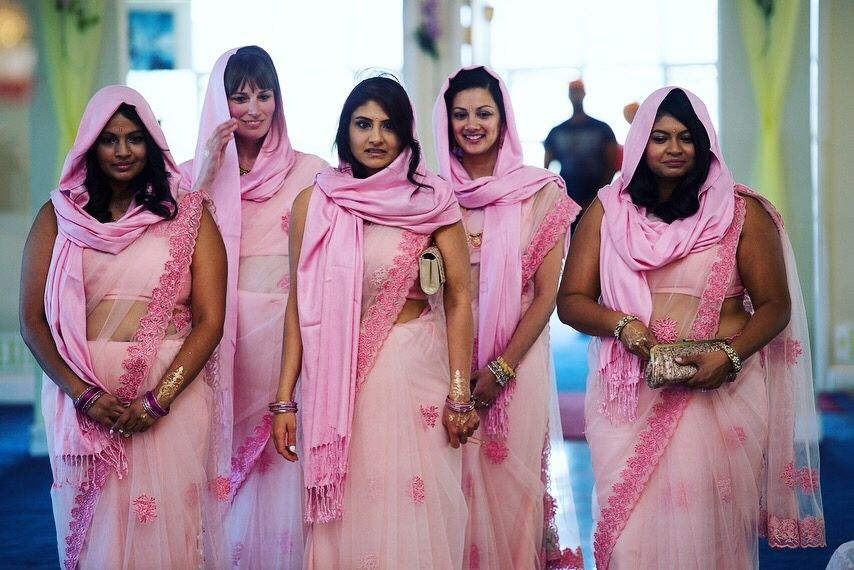 Photo From Tina and her bridesmaids  - By Jewel Bharaty