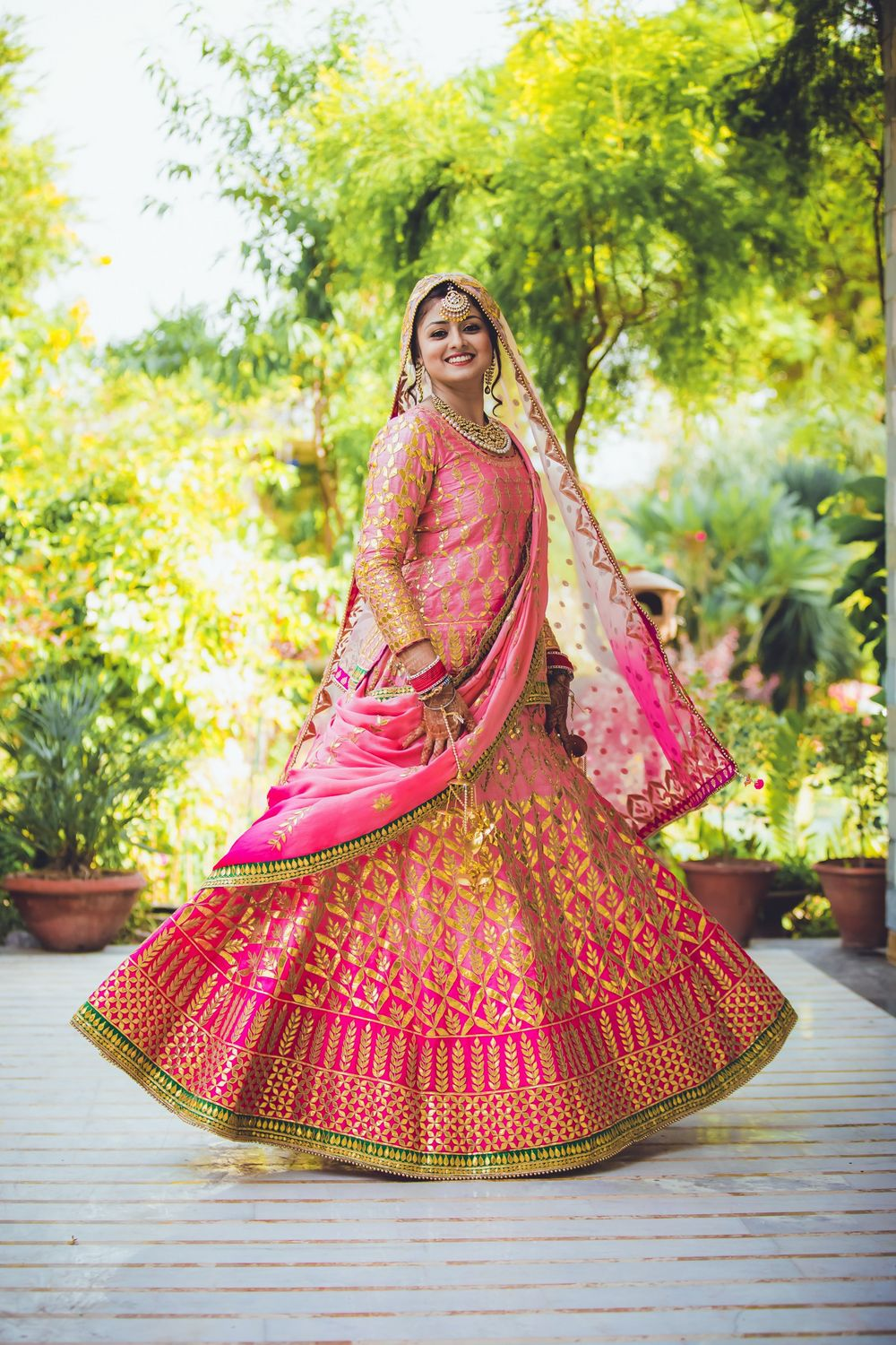Photo of ombre lehenga