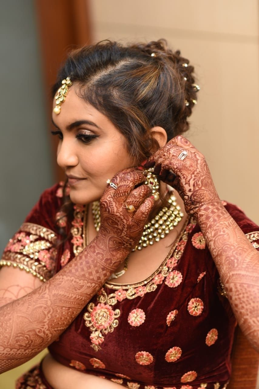 Photo From Tejshree Weds Vikas - By Vidhi Salecha Makeup Artist