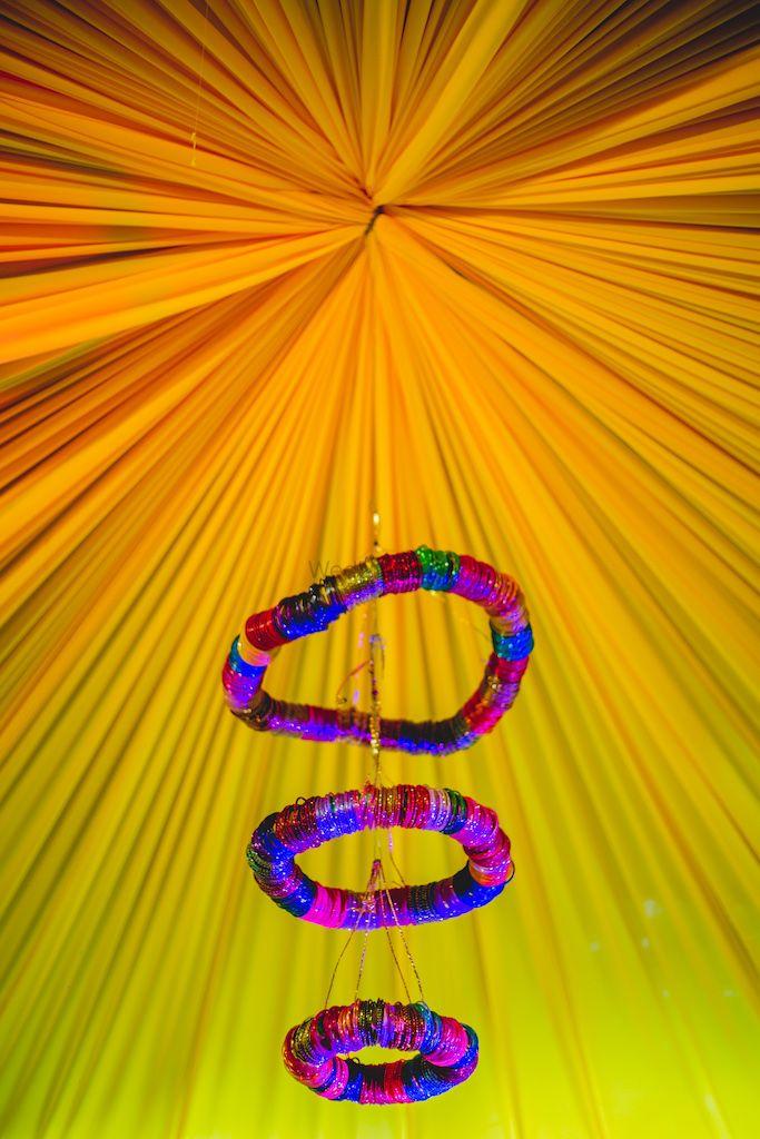 Photo of bangle chandelier