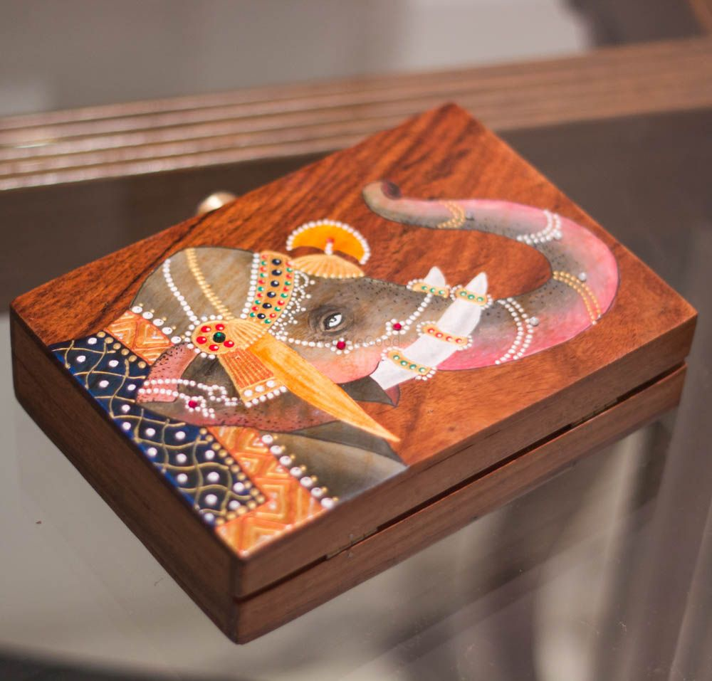 Photo of wooden box