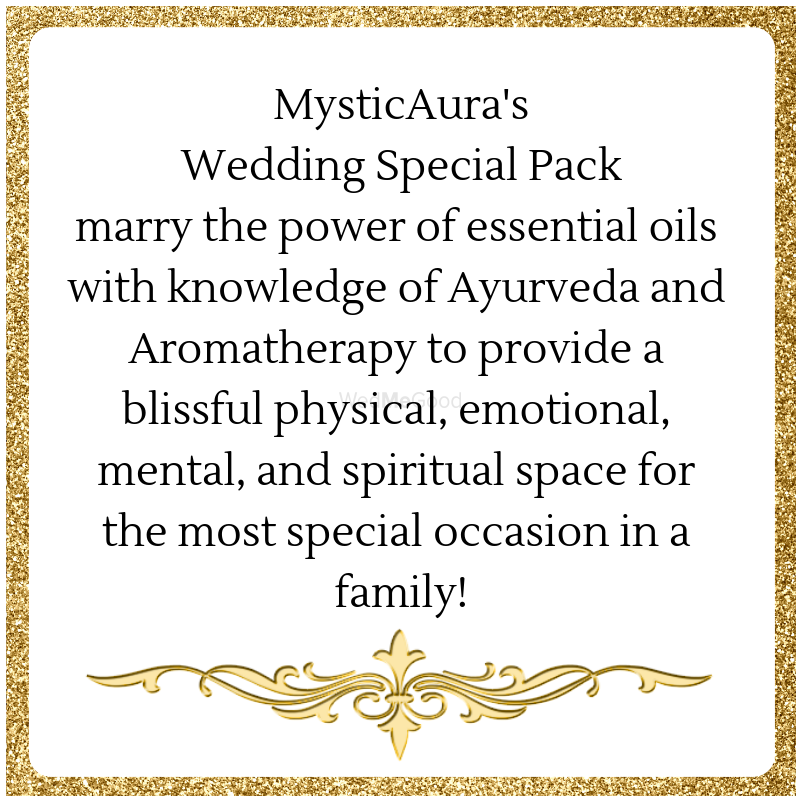 Photo From Essential Oils for Wedding - By MysticAura