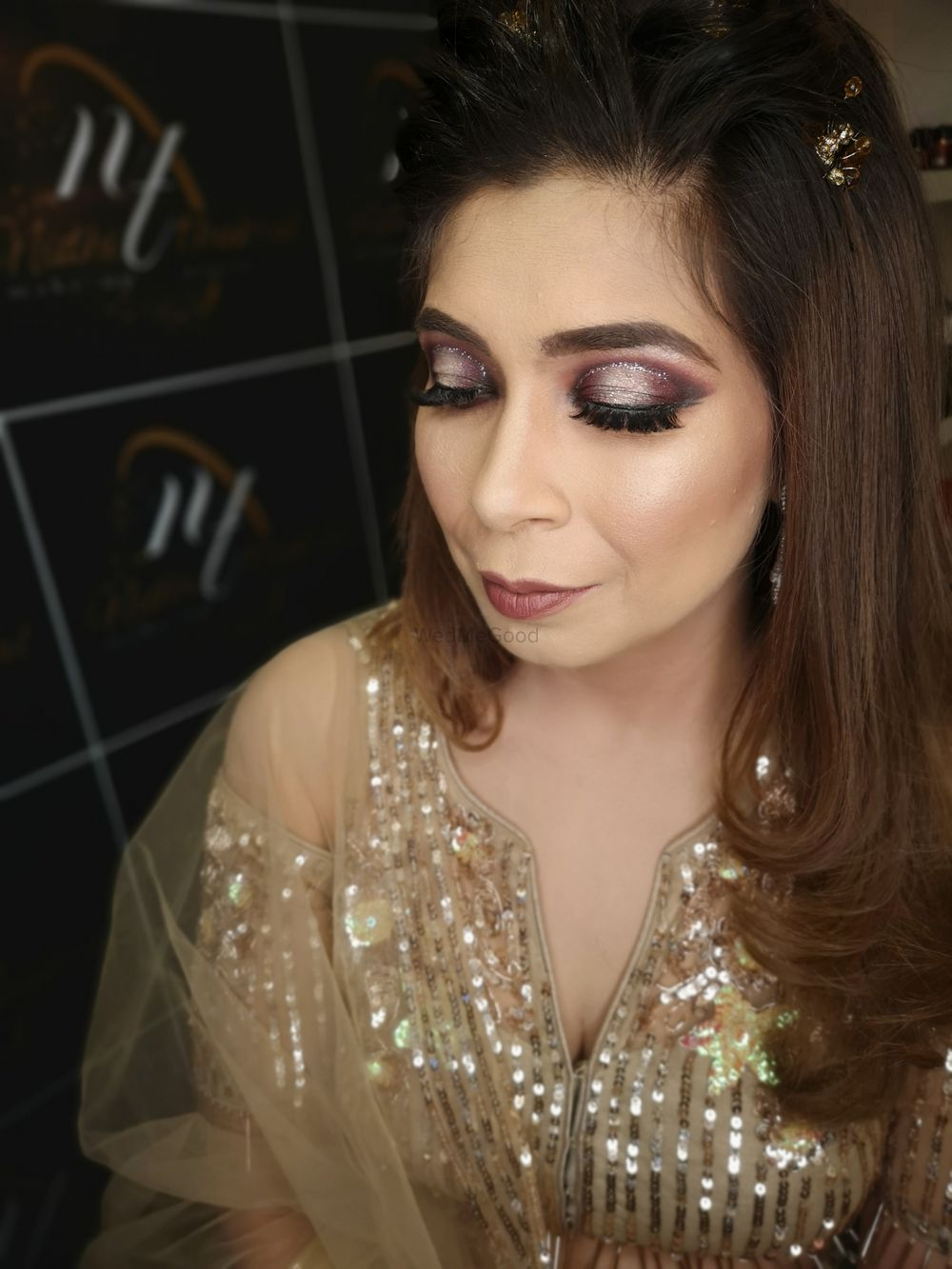 Photo From Engagement Glam Bam - By Makeup by Nidhi Thukral