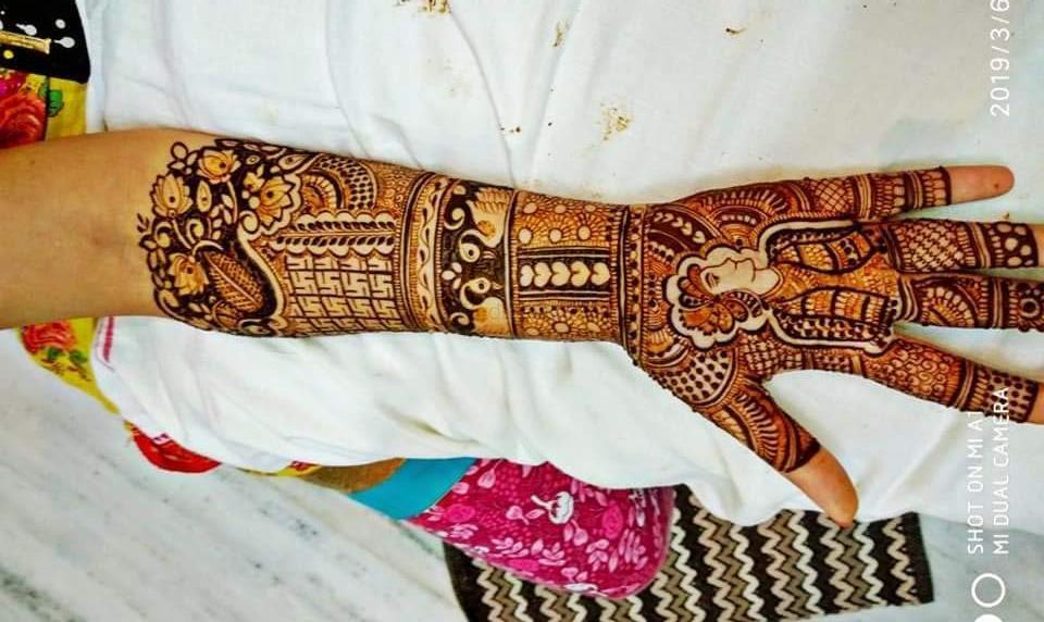 Photo From Lotus Small Hand Mehndi - By Krishna Mehndi Art Hyderabad