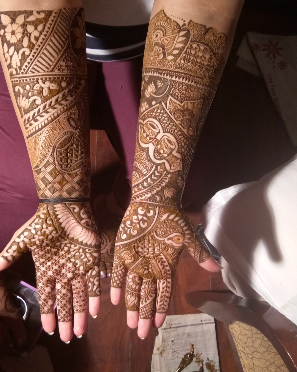 Photo From Deepanti bridal mehendi on 17 th nov 2018 - By Shalini Mehendi Artist