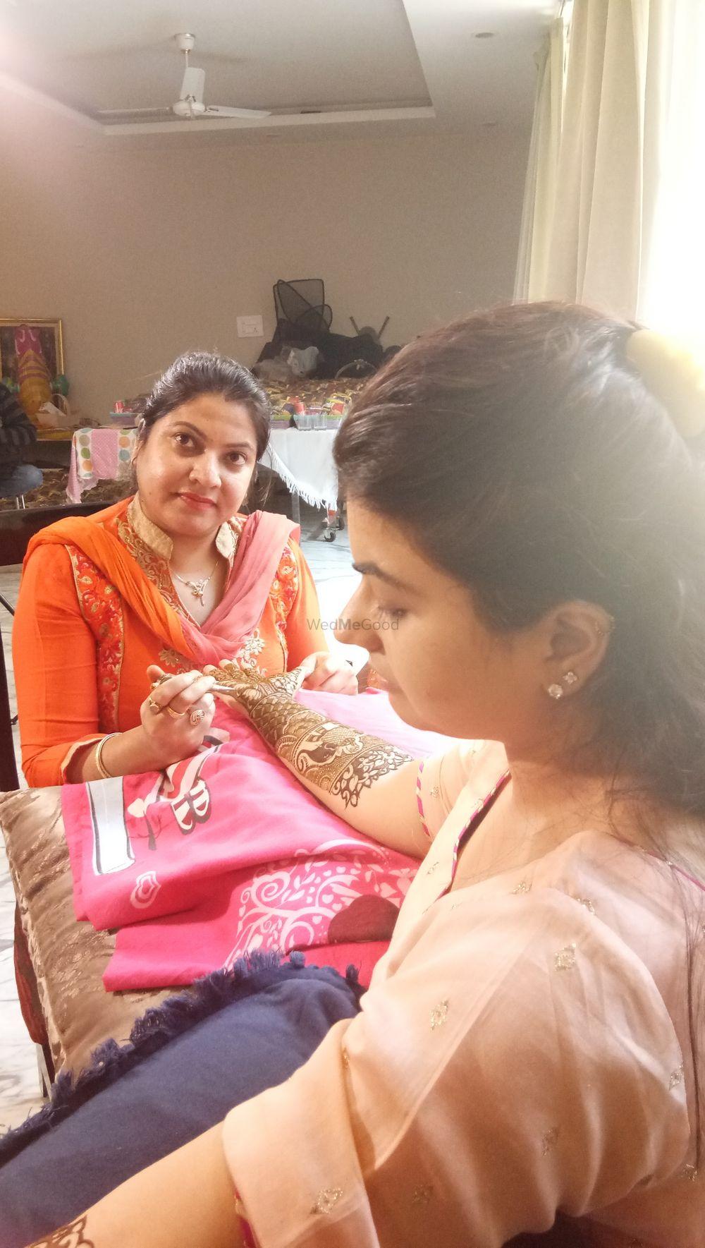 Photo From Geetanshu bhalla bridal mehendi on 17 th nov 2018 at sector 15, faridabad - By Shalini Mehendi Artist