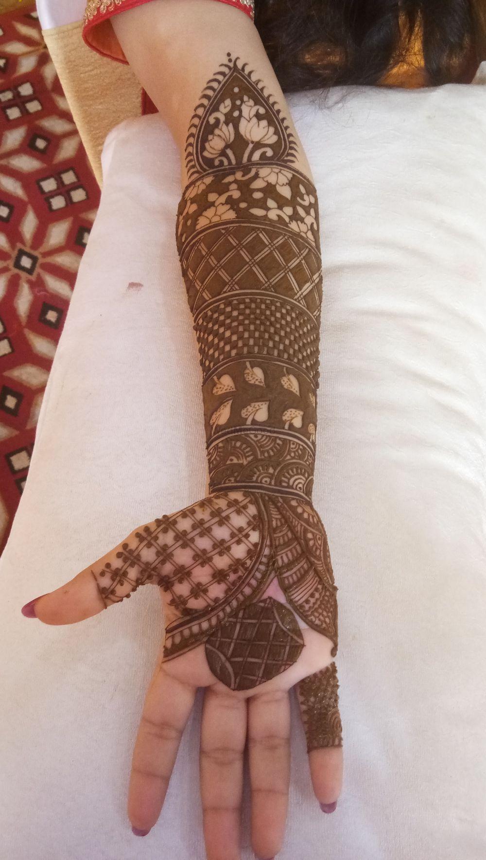 Photo From shikha bridal mehendi on 22 nov 2018, Ashoka bhawan - By Shalini Mehendi Artist