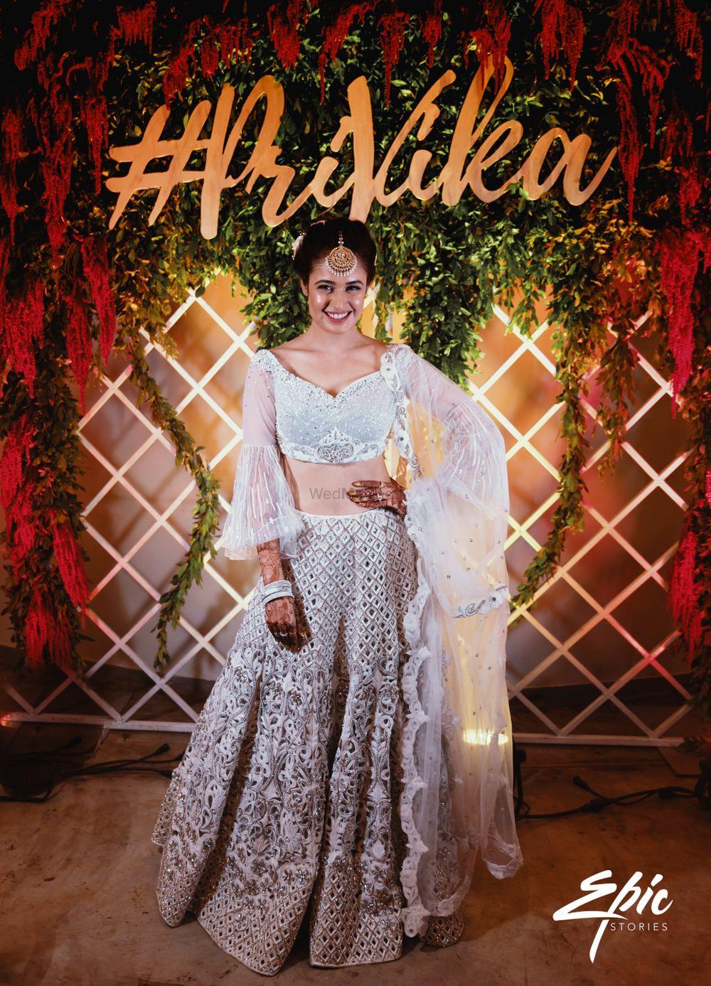 Photo of Stunning Yuvika Chaudary for her sangeet