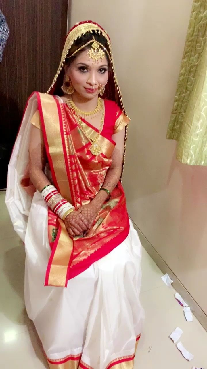 Photo From Beautiful Ethnic Gujarati & Marwari brides - By Richa Alchiya Makeup Artist and Hairstylist