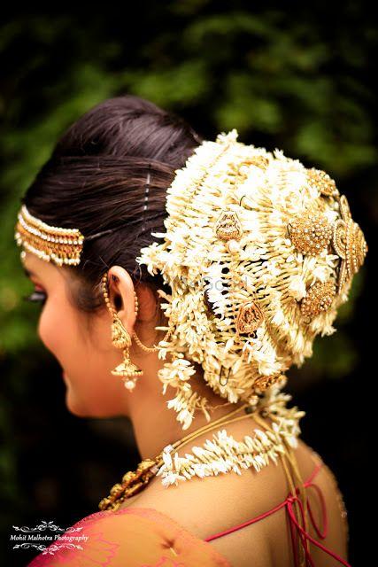 Photo of Bridal bun ideas for South Indian bride