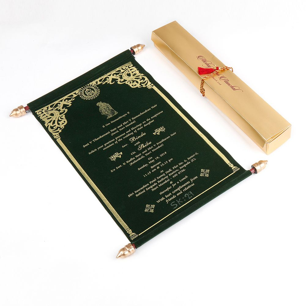 Photo From Scroll Wedding Invitation Cards - By Jimit Card
