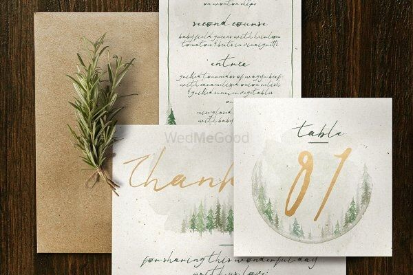 Photo From Watercolour Forest Wedding Suite - By Smart Art