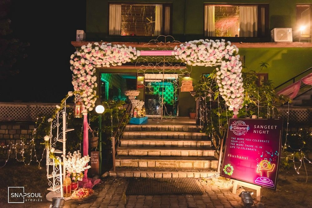 Photo From Sangeet Night with Fusion theme - By Hyacinth Events Planner