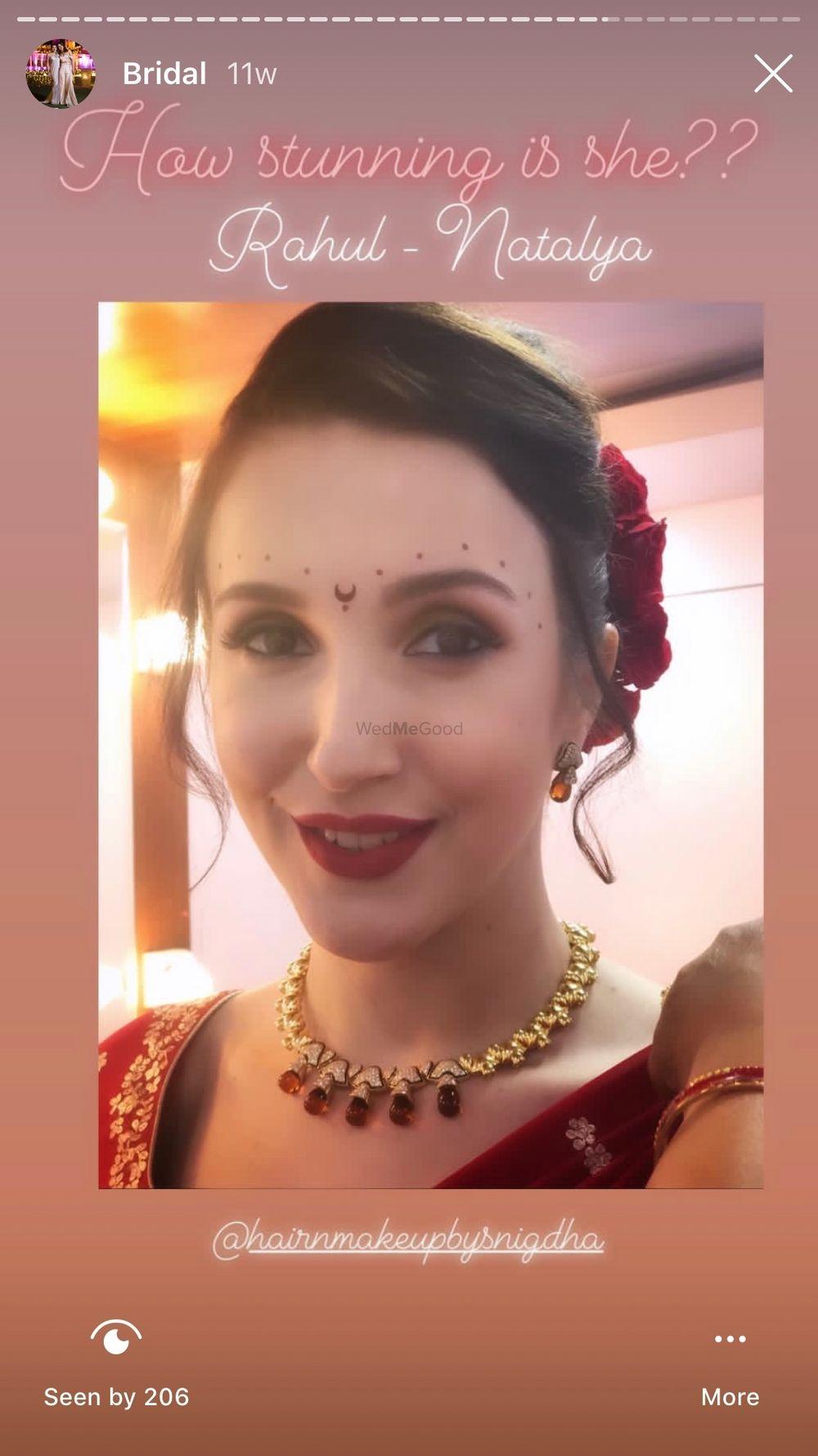 Photo From Rahul Mahajan Weds Natalia - By Monika Dey Makeup and Hair
