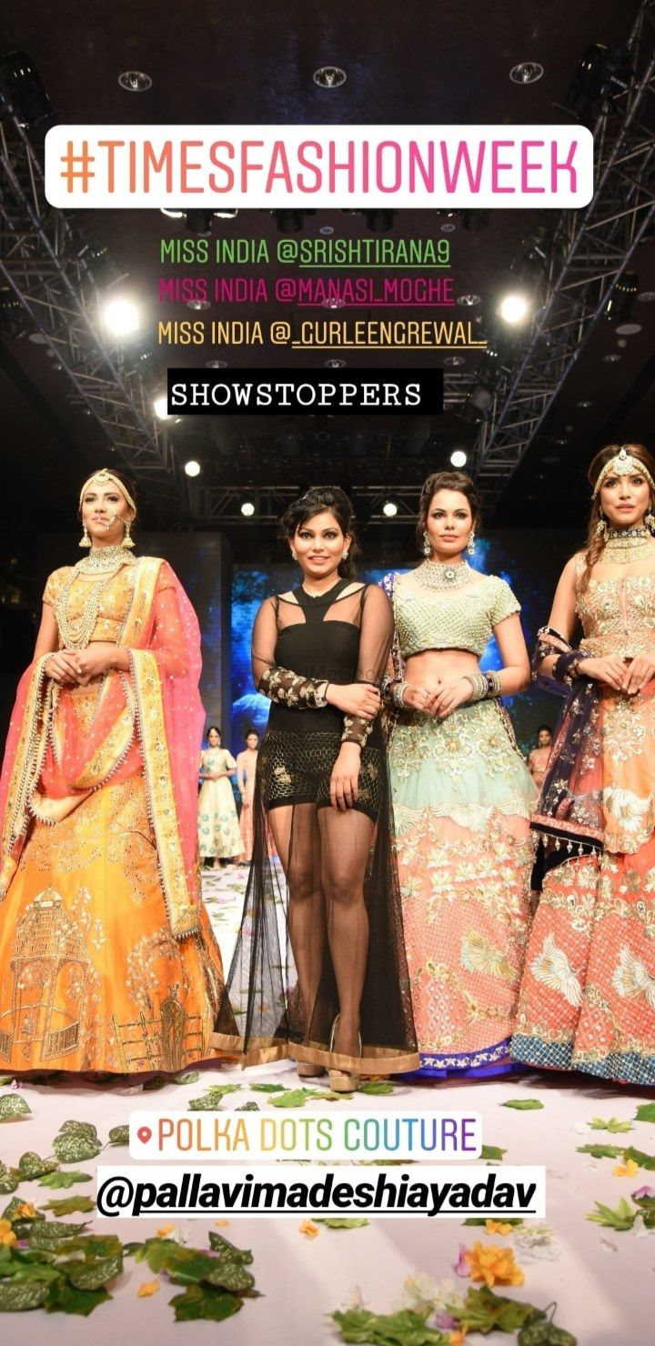 Photo From polka dots couture infashion week - By Polka Dots Couture