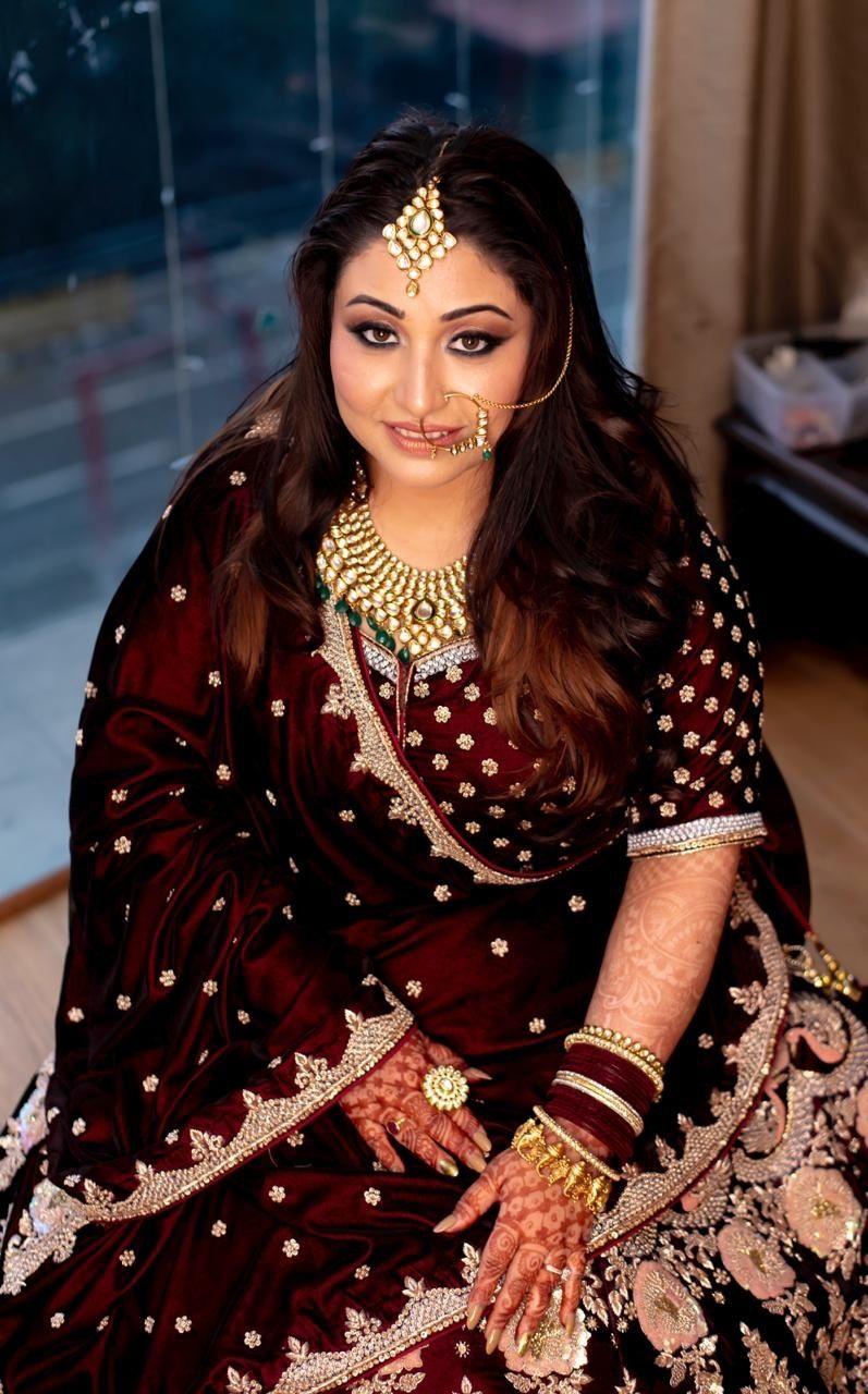Photo From Subtle Smokey eyes n Soft lips_Prachi's Bridal - By Nivritti Chandra