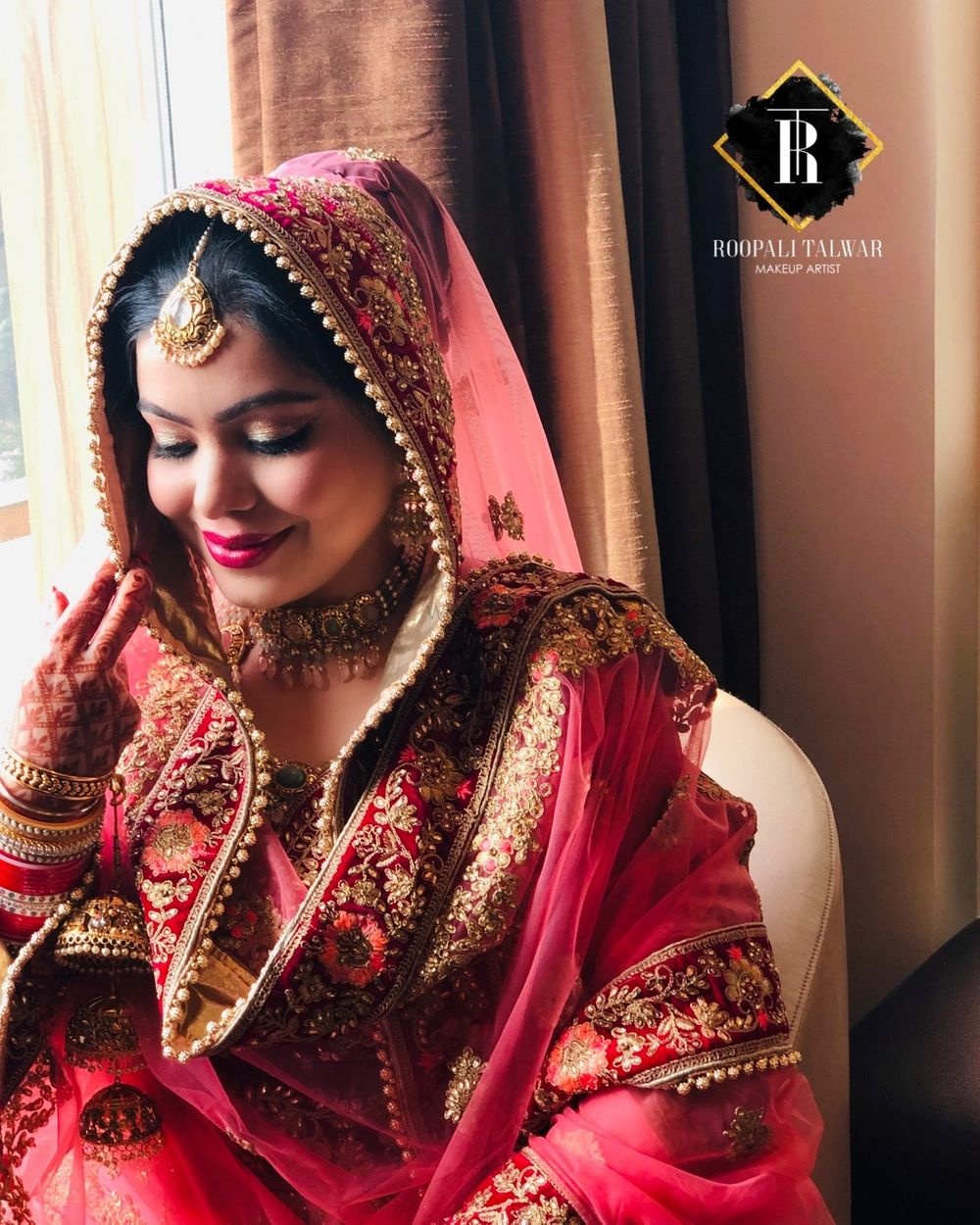 Photo From My beautiful #Sikhbride  - By Roopali Talwar Makeup Artist