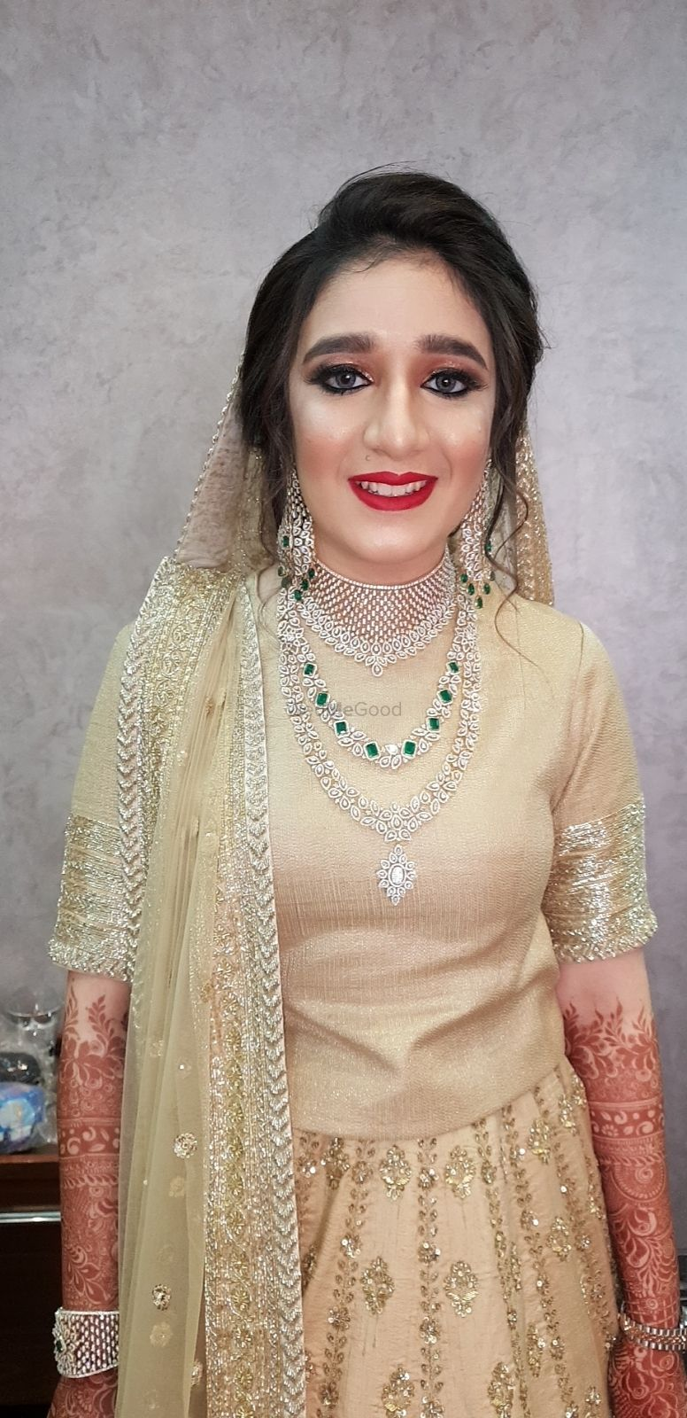 Photo From Bridal Look for my Muslim Bride Rehana Nathani - By Makeup by Dimplle S Bathija