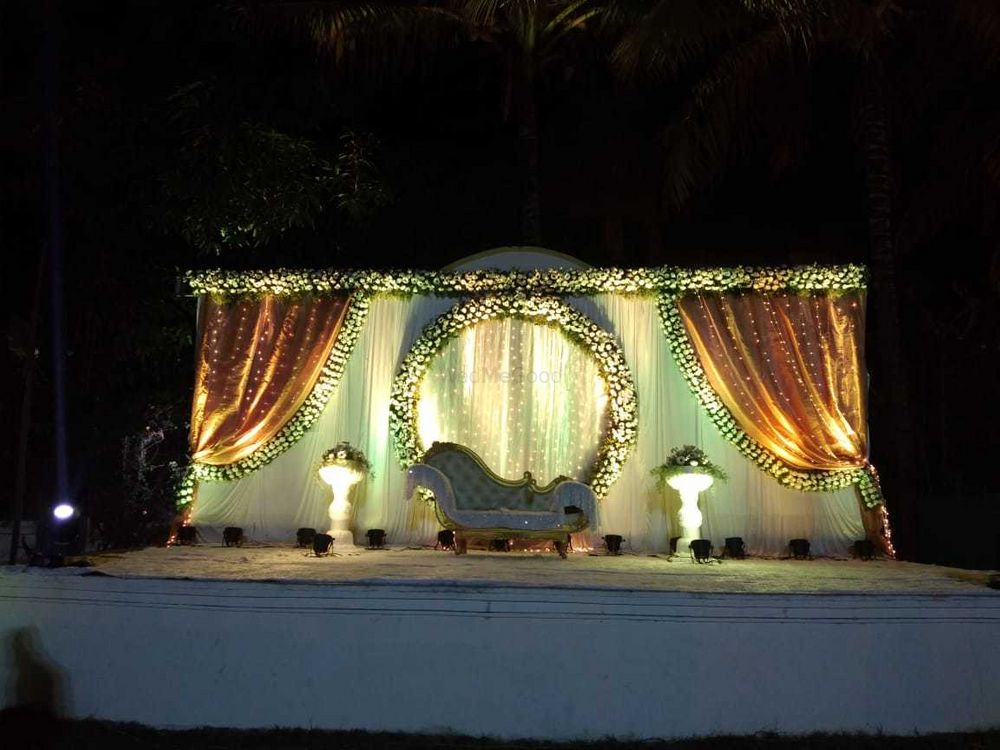 Photo From Elite Golden White theme - By Exotica- The Ambience Decorators & Event Management