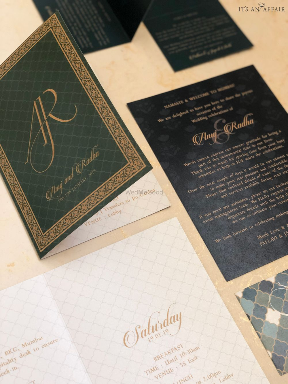 Photo From Royal Wedding Stationery - By Invitations by Its an Affair