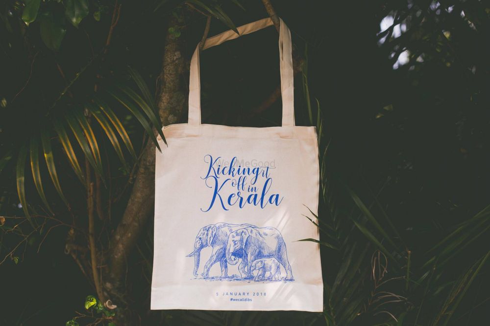 Photo of Wedding favour idea personalised tote bags