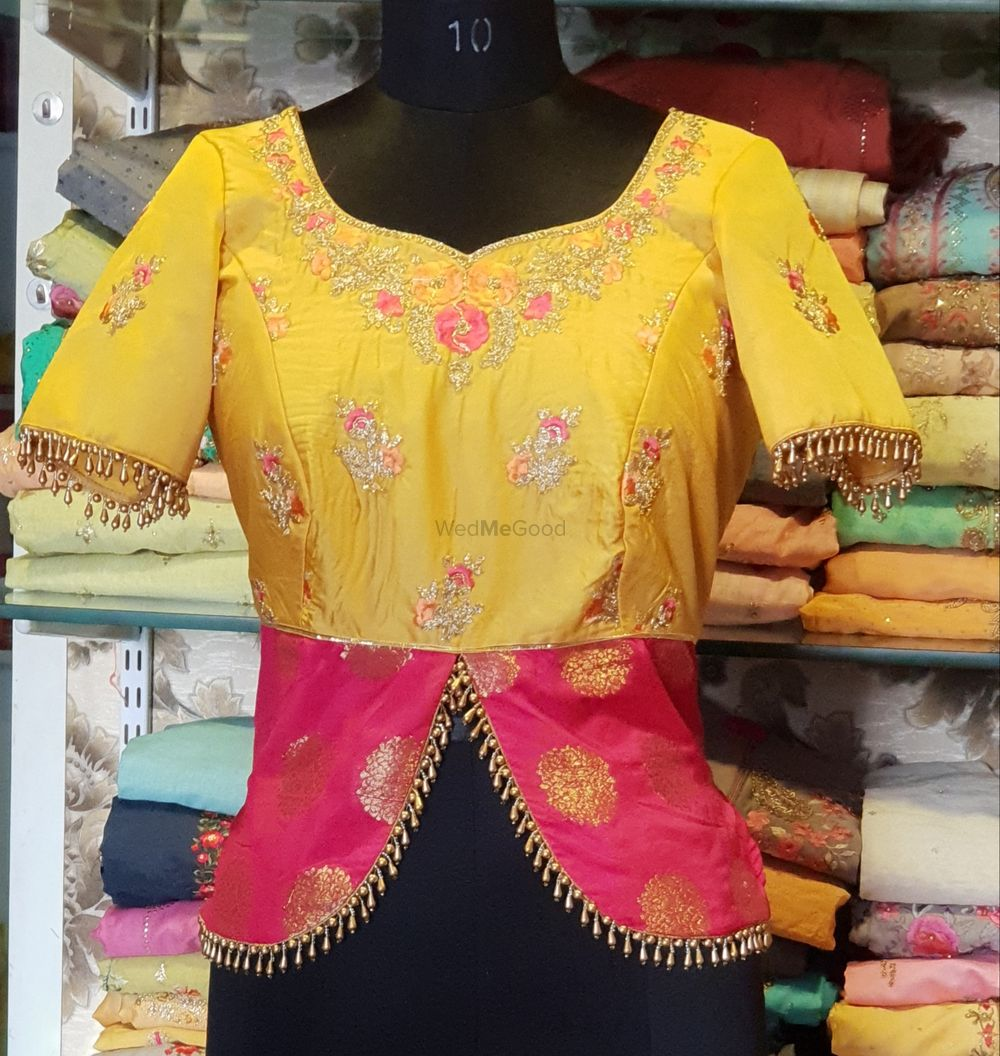Photo From Designer Bridal Blouses - By Anuradha Collections