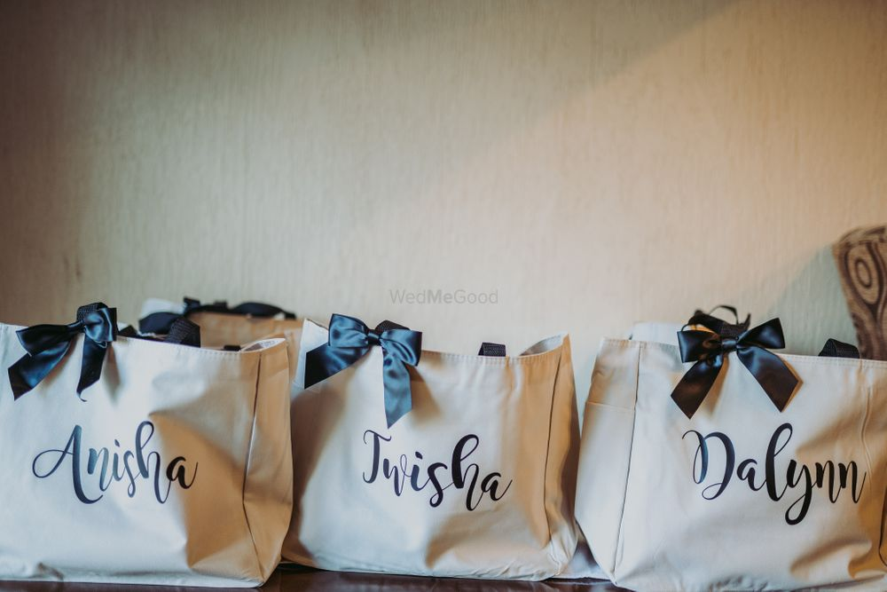 Photo of Bachelorette party personalised favour bags