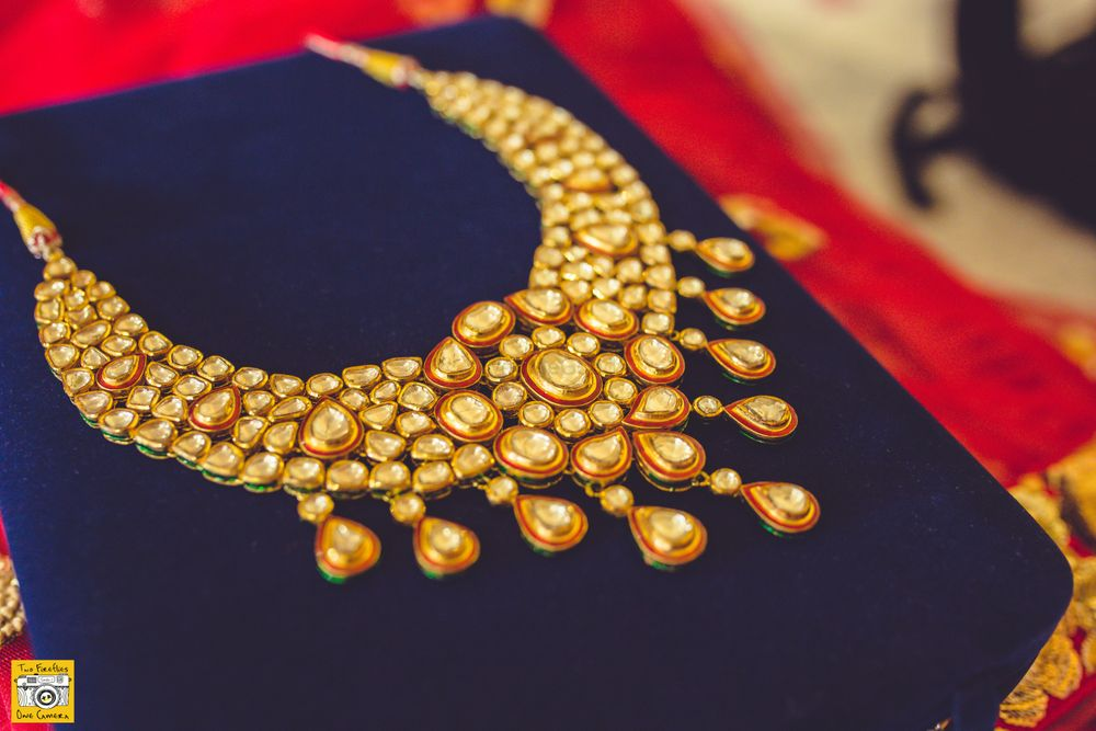 Photo of Polki Gold Bridal Necklace