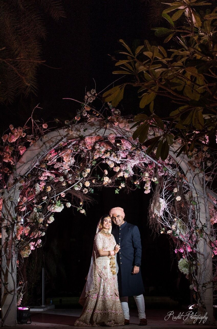 Photo of Floral archway for wedding