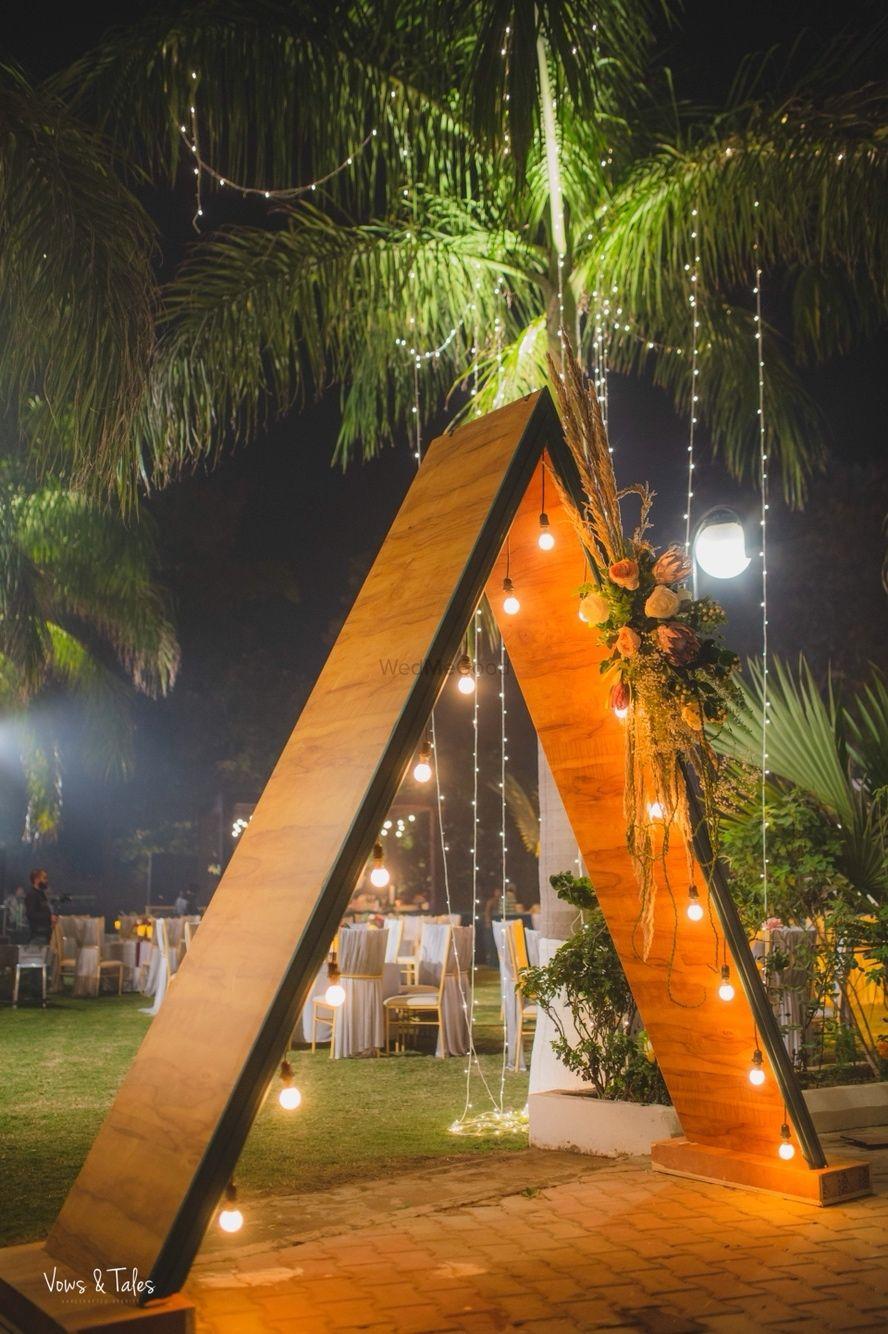 Photo of Night decor entrance idea