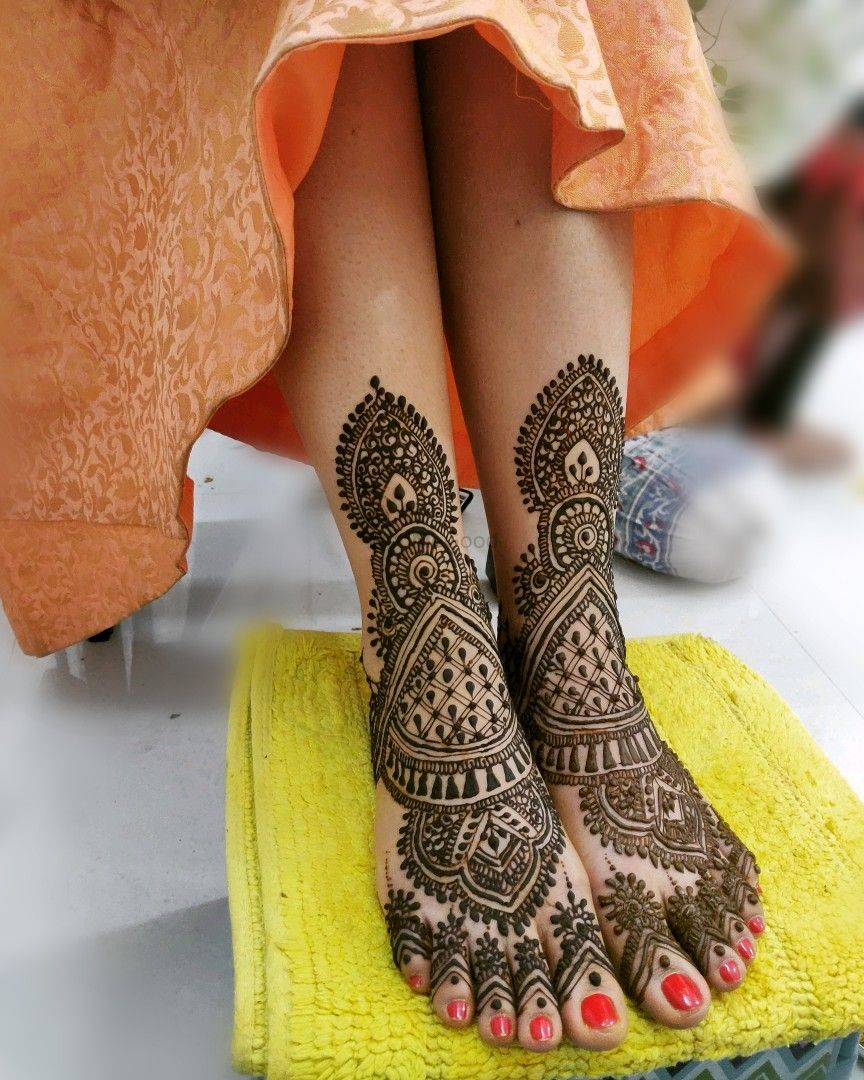 Photo From bridal mehndi - By Mehndi by Nazwa