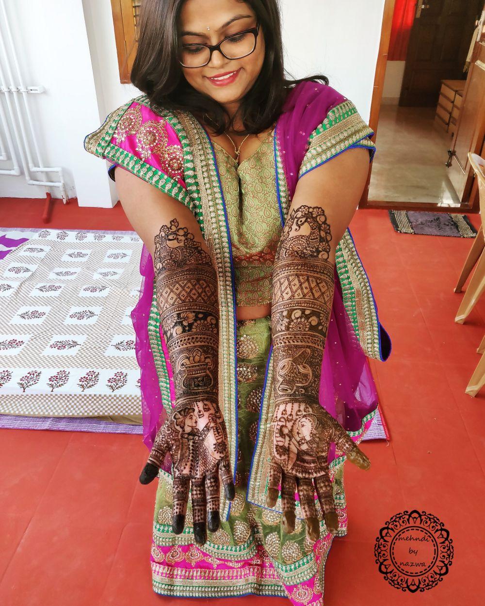 Photo From bridal mehndi - By Mehndi by Nazwa