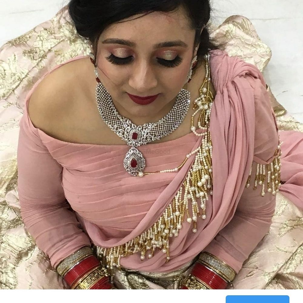 Photo From engagement makeup - By Pearl Blossom