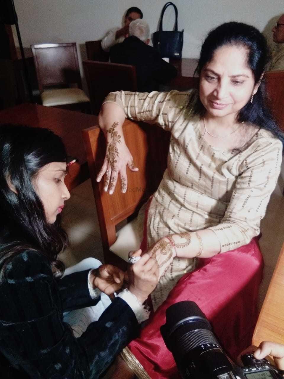 Photo From riddhi mehandi ceremony - By Jully Mehandi Designer