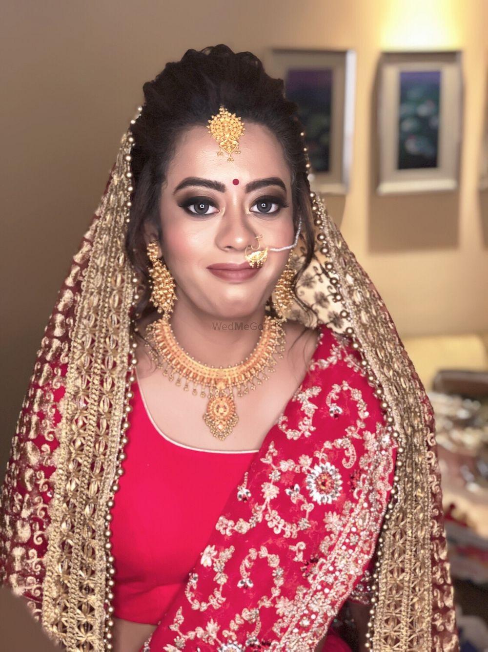 Photo From Apoorva's bridal diaries  - By Saloni Arora - Makeup Mafia