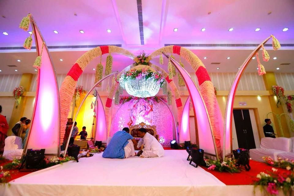 Photo From mixed flower work wedding - By Crystal Ball Events