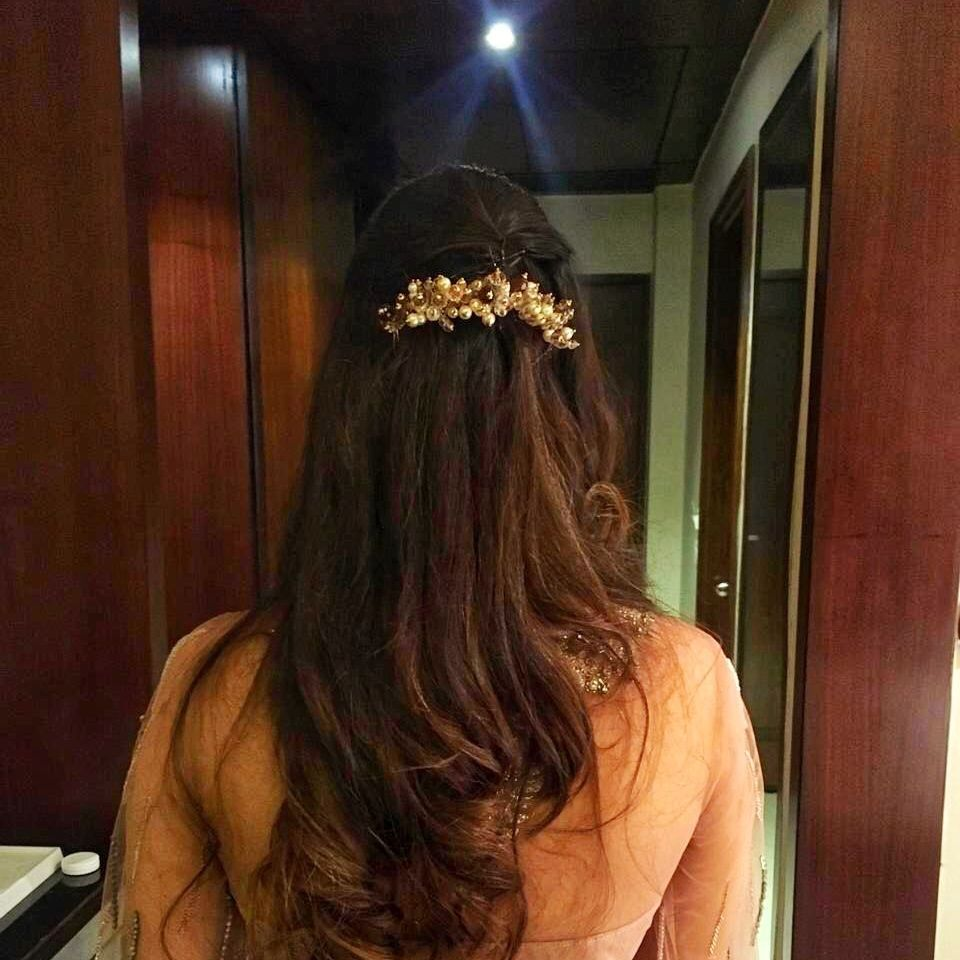 Photo From Bridal hair  - By Ami Mane Handcrafted Jewellery