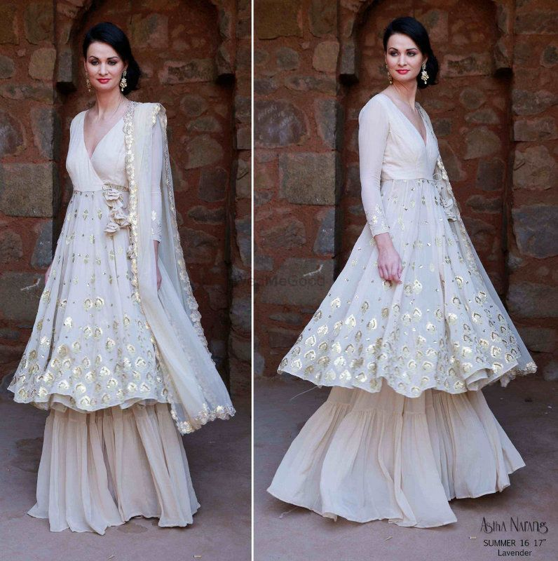 Photo of Sufi Night outfit in White by Astha Narang