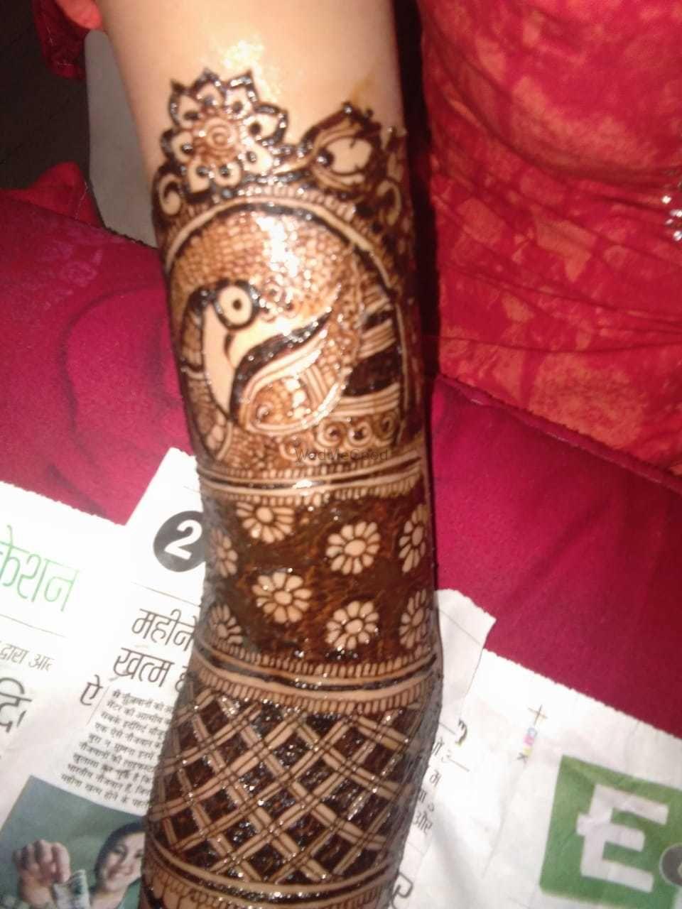 Photo From mohini mehandi ceremony - By Jully Mehandi Designer