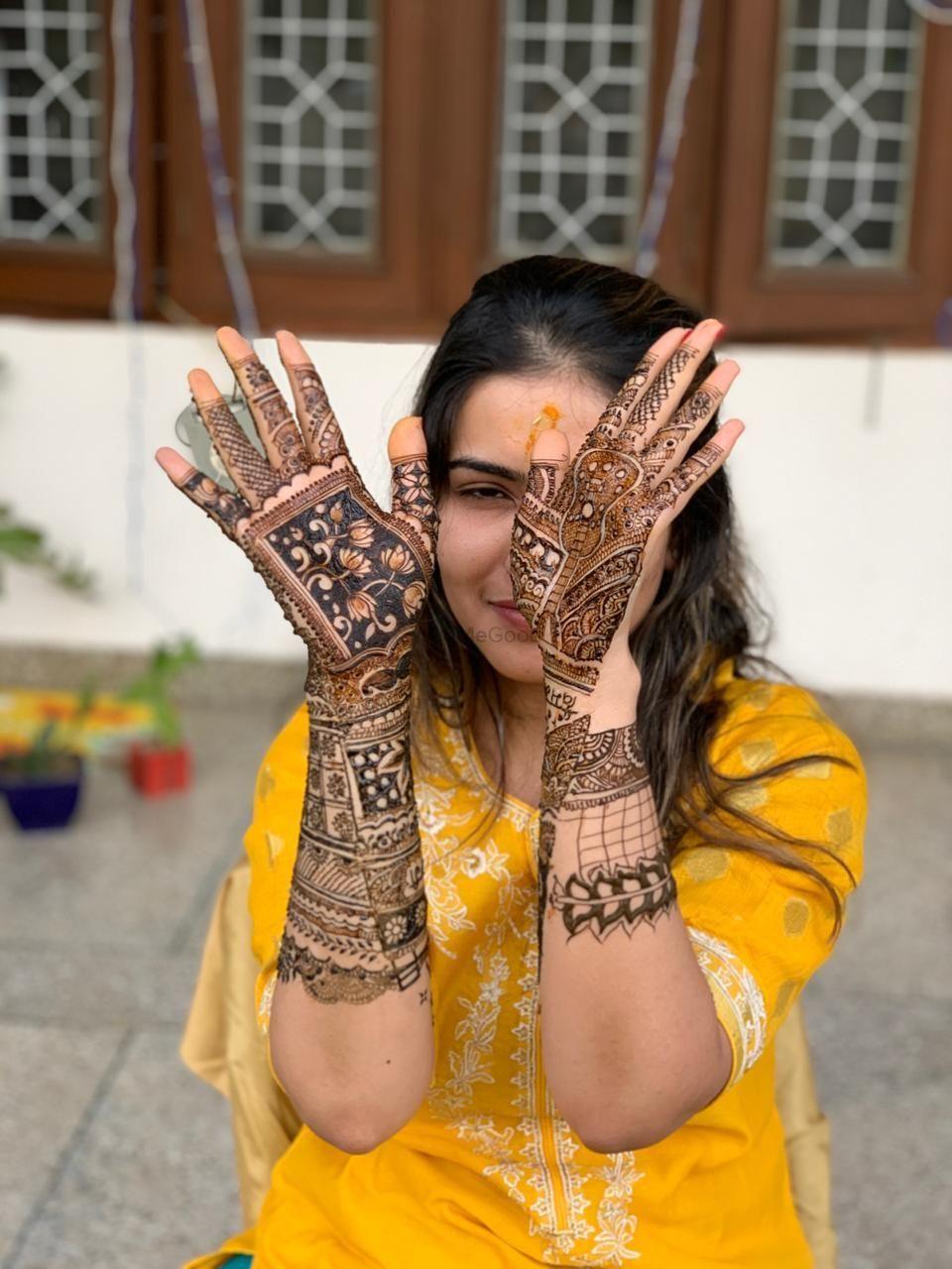 Photo From shivani mehandi ceremony - By Jully Mehandi Designer