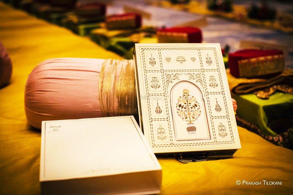 Photo From Royal Wedding card (Niyami weds Pruth) - By Krimson Design