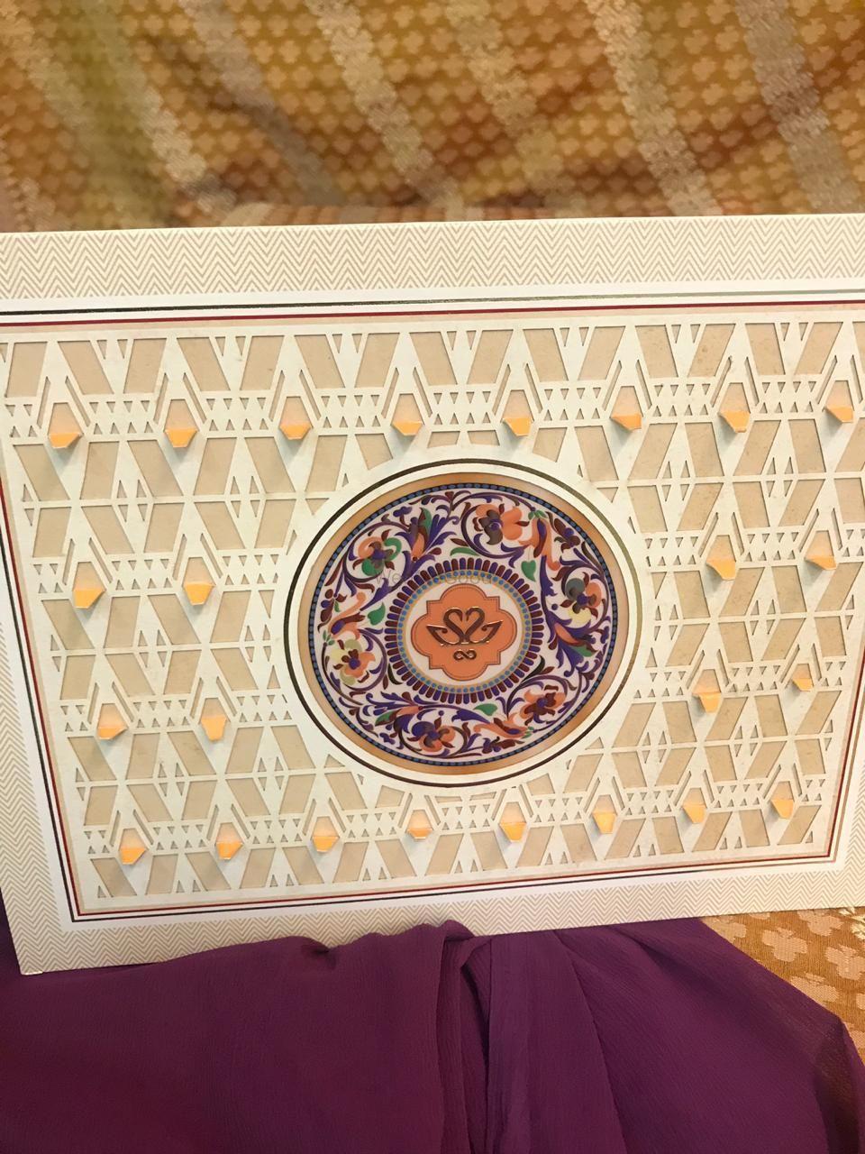 Photo From origami  & Minakari concept box wedding card  (Shanay weds Jinal) - By Krimson Design
