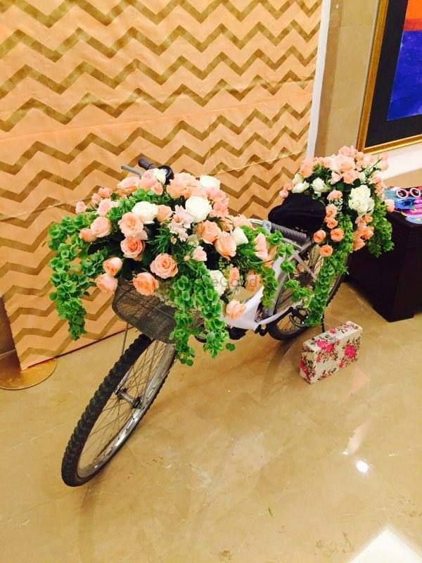 Photo of Floral bicycle