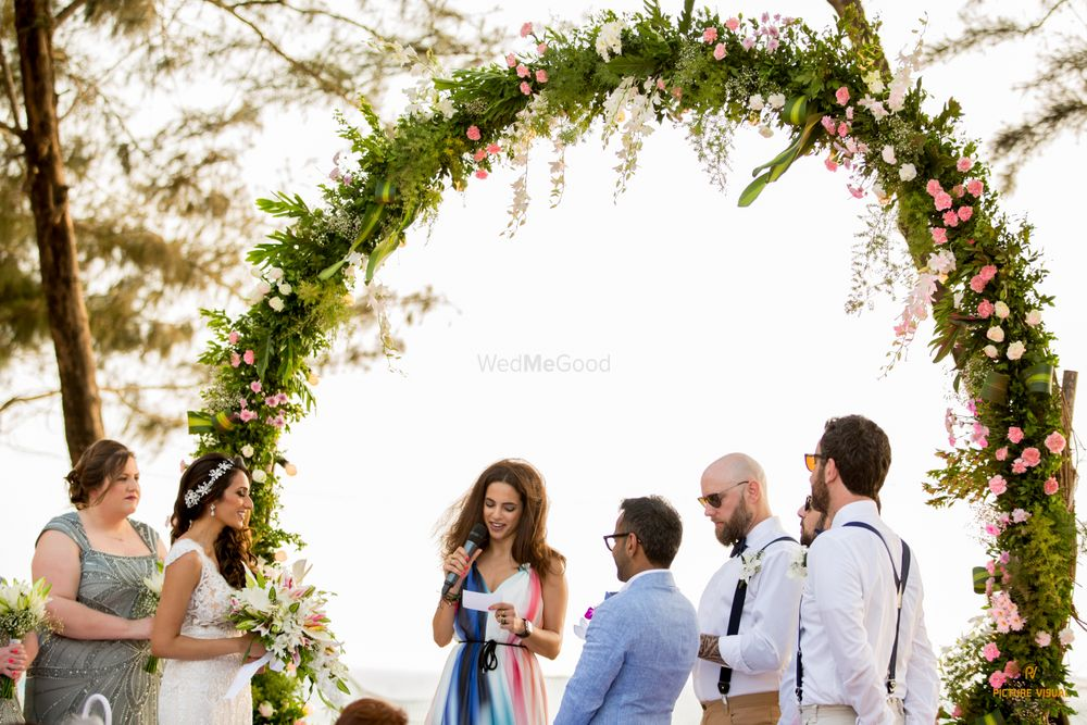 Photo From Nima & Ushma (White Wedding) - By Picture Visual