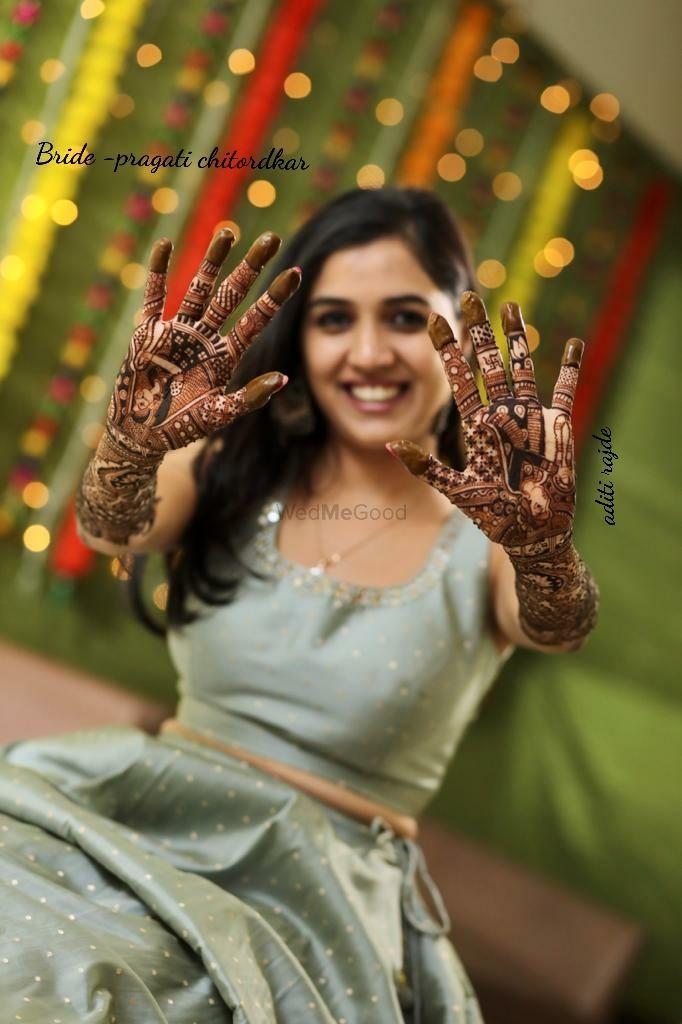 Photo From Brides - By Aditis Mehendi Art